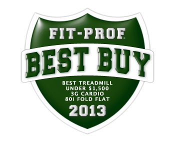 Fitness Professor Review of the 3G Cardio 80i Fold Flat Treadmill