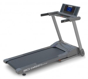 It's now actually possible to conserve space and get a good, quality run with the ingenious 3G Cardio 80i Fold Flat Treadmill.