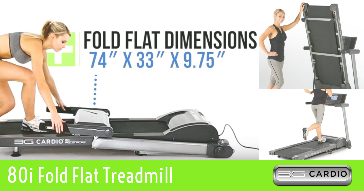 Five Benefits Of Exercising On 3G Cardio 80i Fold Flat Treadmill