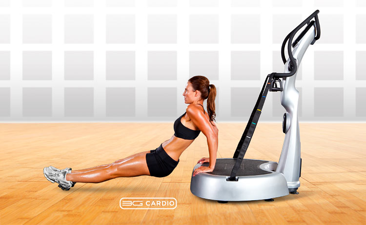 AVT Vibration Machine Exercise of the Day: Latissimus Dip