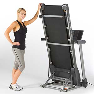 80i Fold Flat Treadmill is your Under the Bed Tread that also folds up