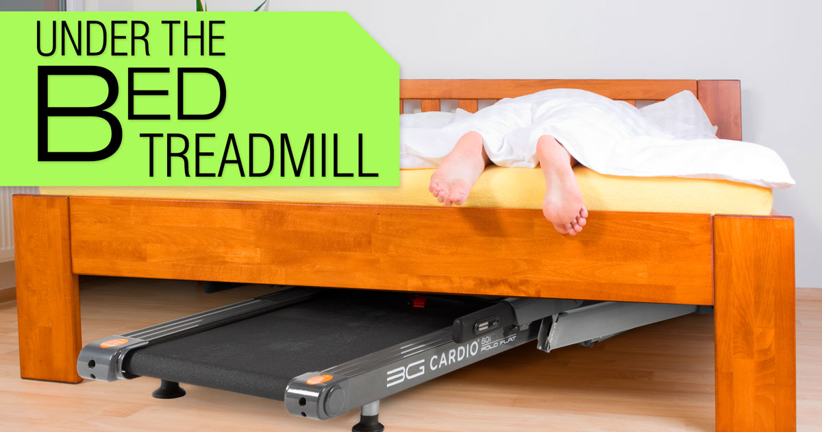 80i Fold Flat Treadmill is your Under the bed Tread