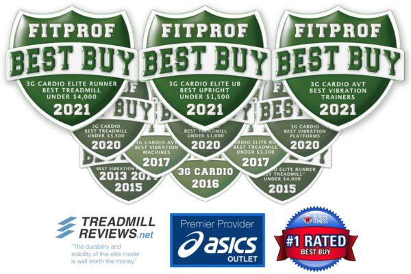 3G Cardio Award Winning Fitness Equipment 2021