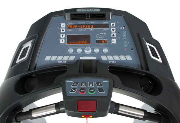 3G Cardio Elite Runner Treadmill Console