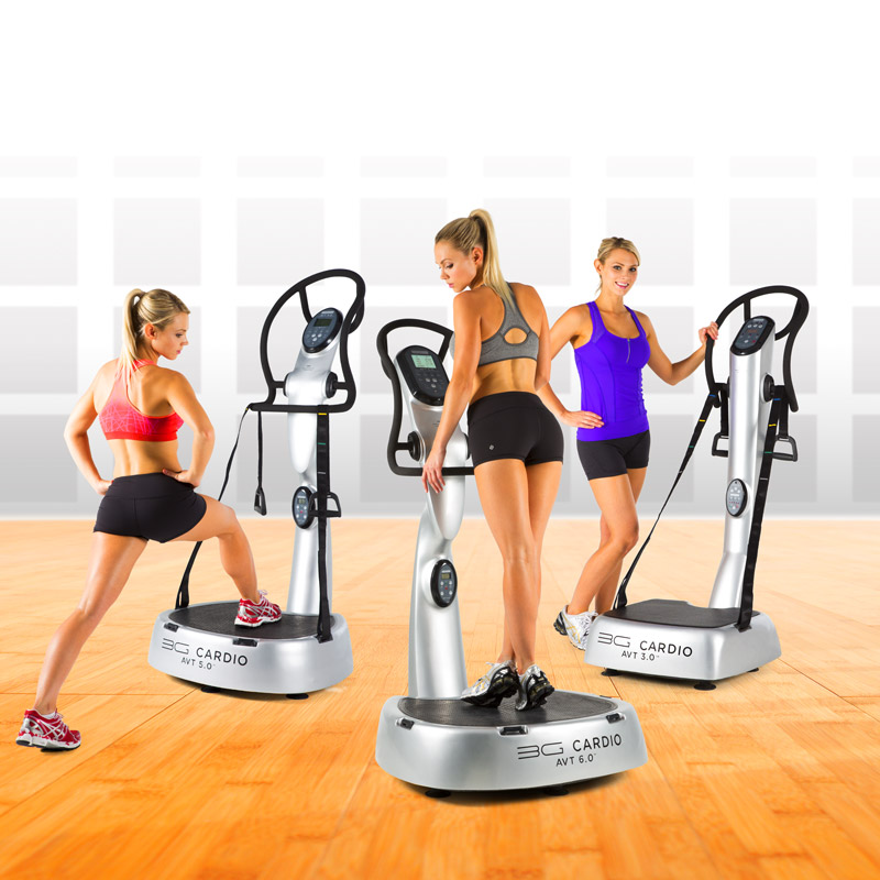 AVT Exercises - 3G Cardio Accelerated Vibration Training
