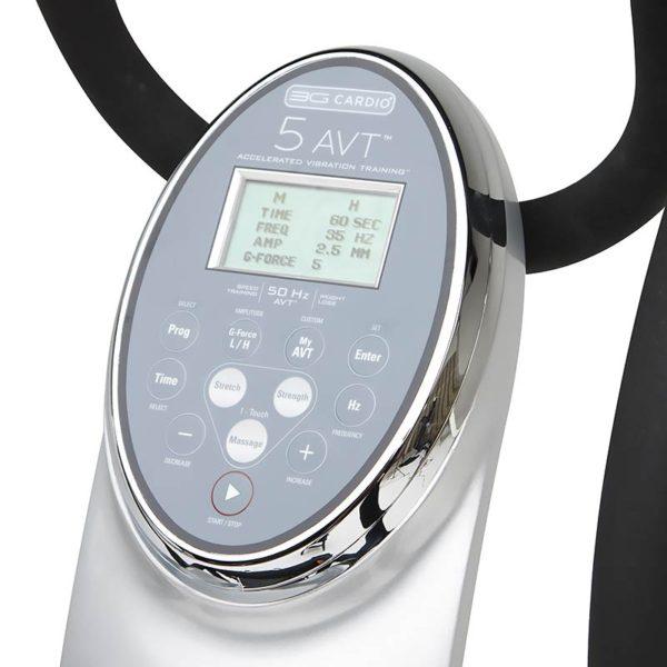 3G Cardio 5 AVT Vibration Machine Console
