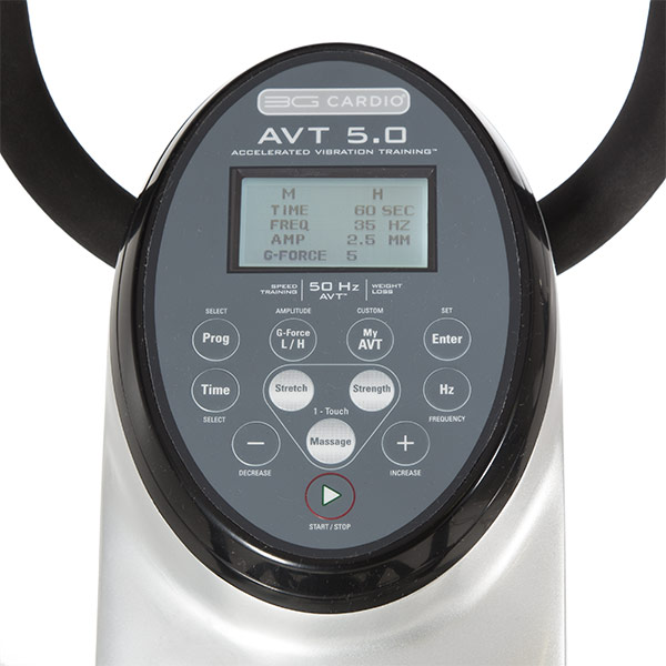 5 AVT Vibration Machine Console Specifications