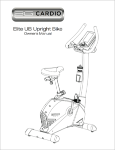 Elite UB Upright Bike Manual