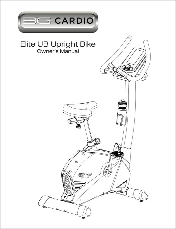 Elite UB Upright Bike Manual
