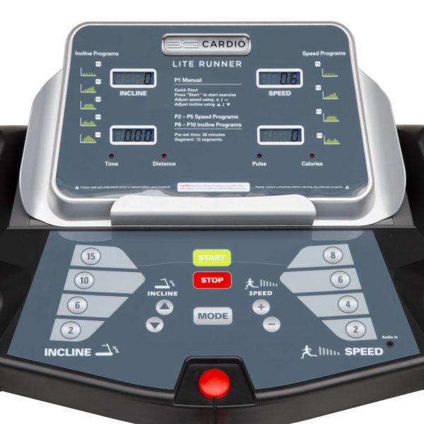 3G Cardio Lite Runner Console