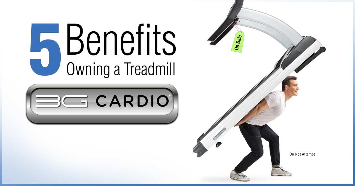 Five Reasons To Own Your Own Treadmill