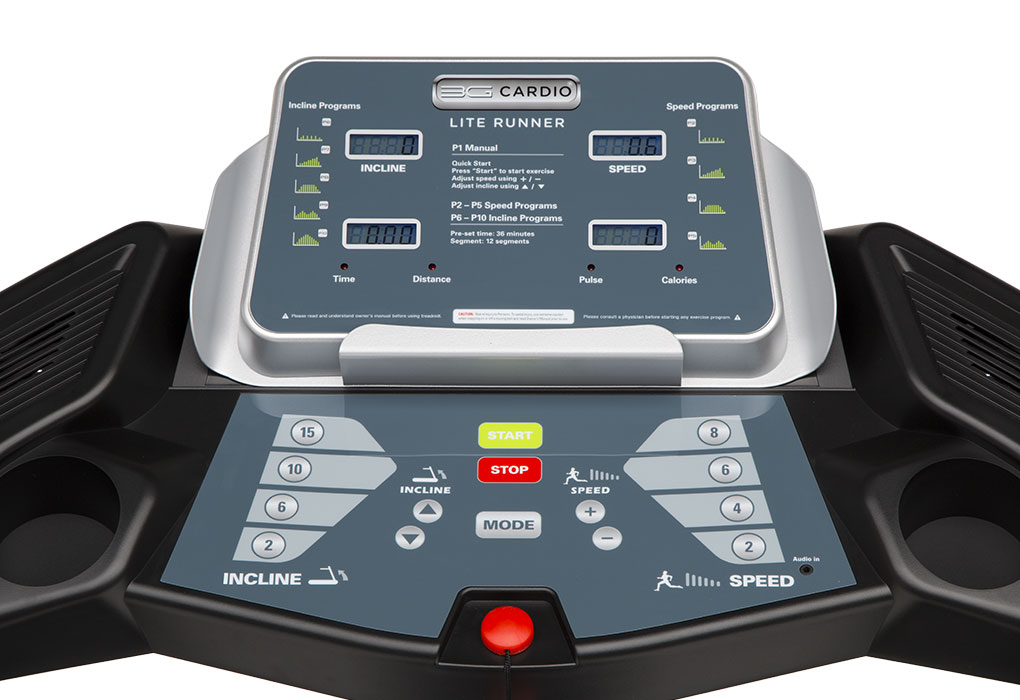 Pro Runner Console Specifications