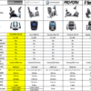 Elite RB Recumbent Bike comparison chart 2