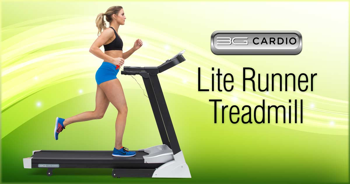 3G Cardio Lite Runner packs great performance in small footprint