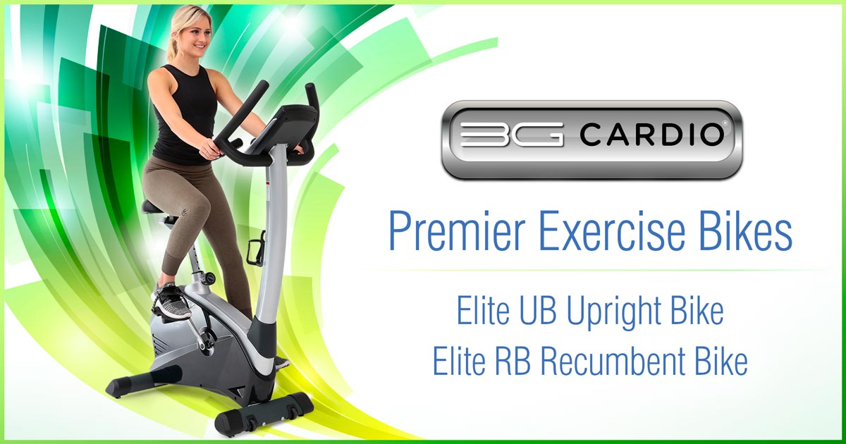 High End Recumbent and Upright Exercise Bikes