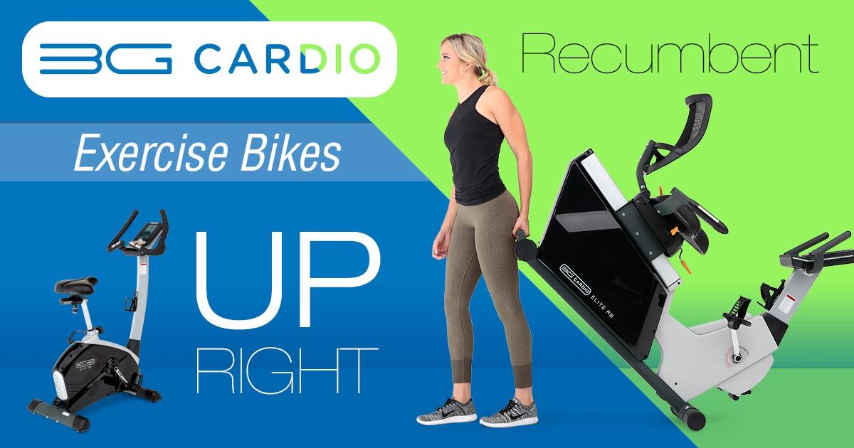 3G Cardio Recumbent or Upright Exercise bike
