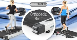 3G Cardio an innovator in bringing orthopedic belts to high-end treadmills