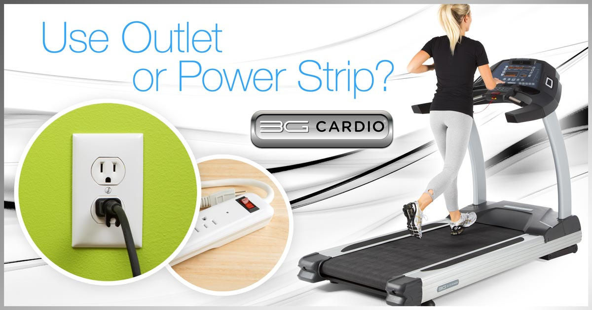 Should you unplug your treadmill or use a power surge strip