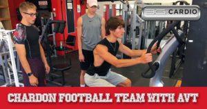 Chardon football team powers up with 3G Cardio 6 AVT