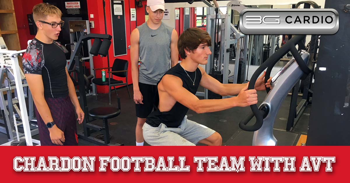Chardon football team powers up with 3G Cardio 6 AVT