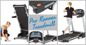 Pro Runner Treadmill provides everything you need