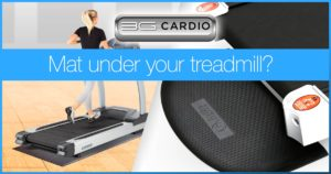 Should you put a mat under your treadmill