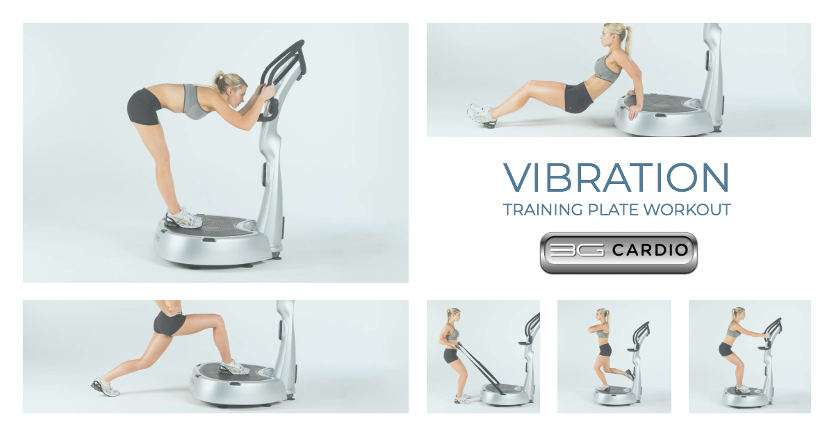Vibration Training Plate Workout