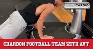 Chardon football team with 6 AVT vibration machine part 3