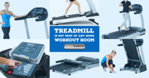 Treadmill is key part of any home workout room