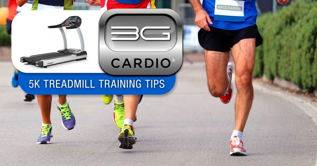 5K Treadmill Training Tips from 3G Cardio