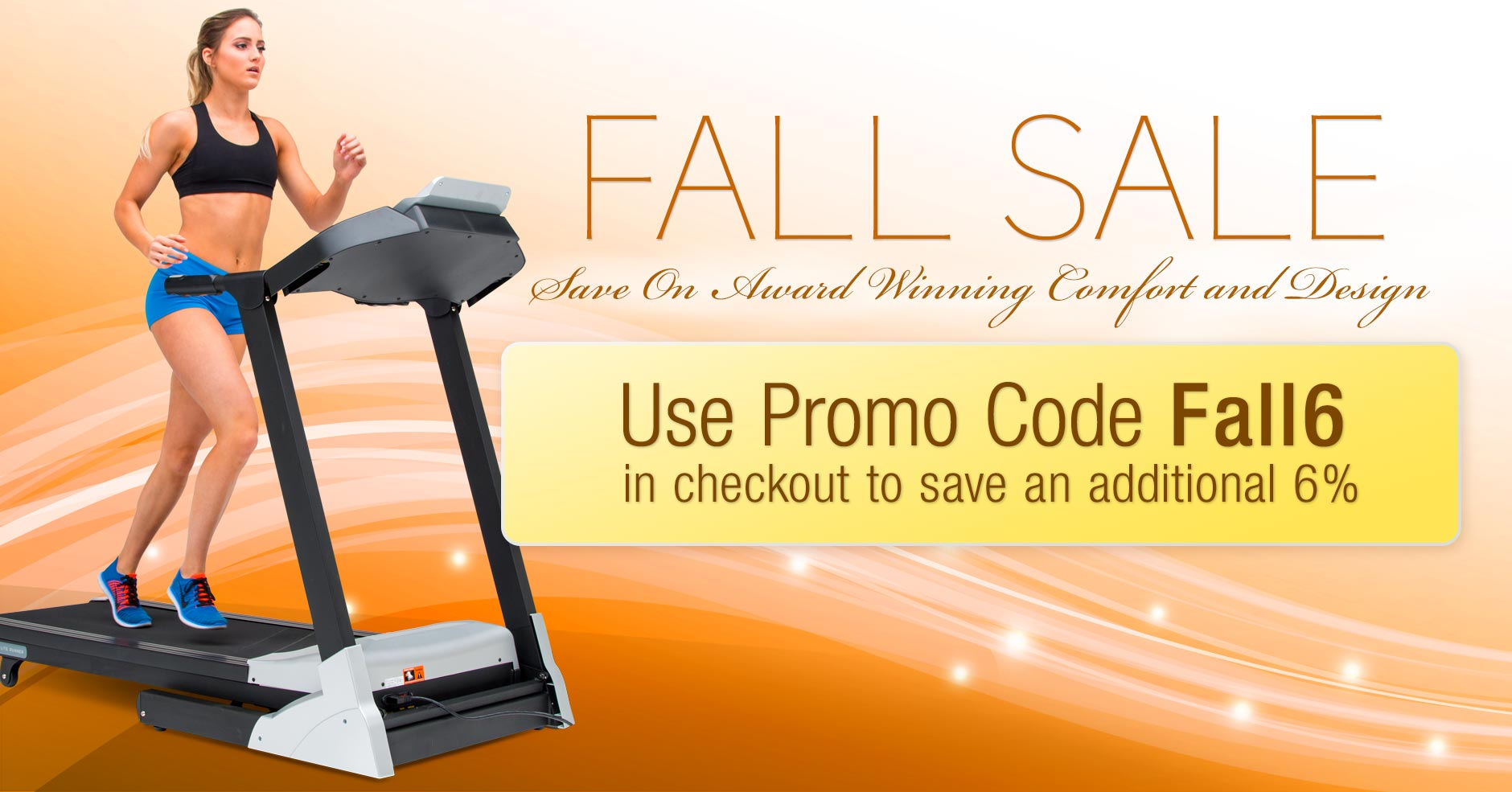 3G Cardio Fall Sale - Save 6 Percent on our Fitness Equipment