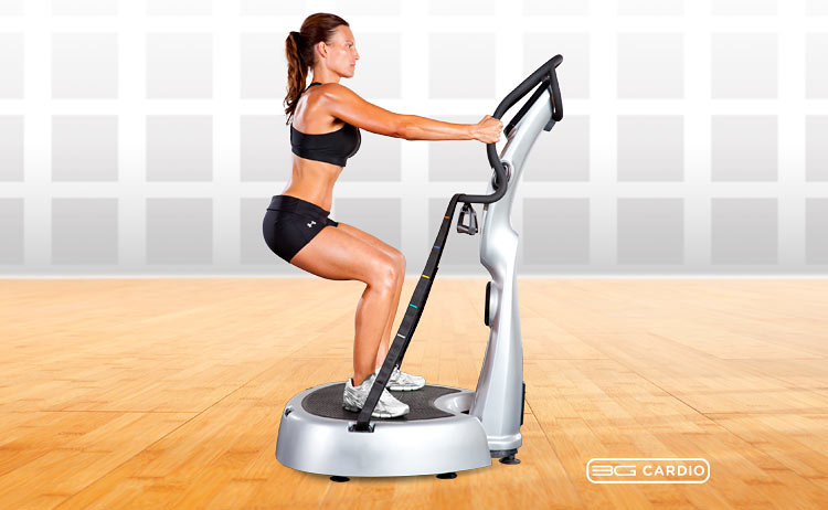 3G Cardio AVT vibration training - Squat