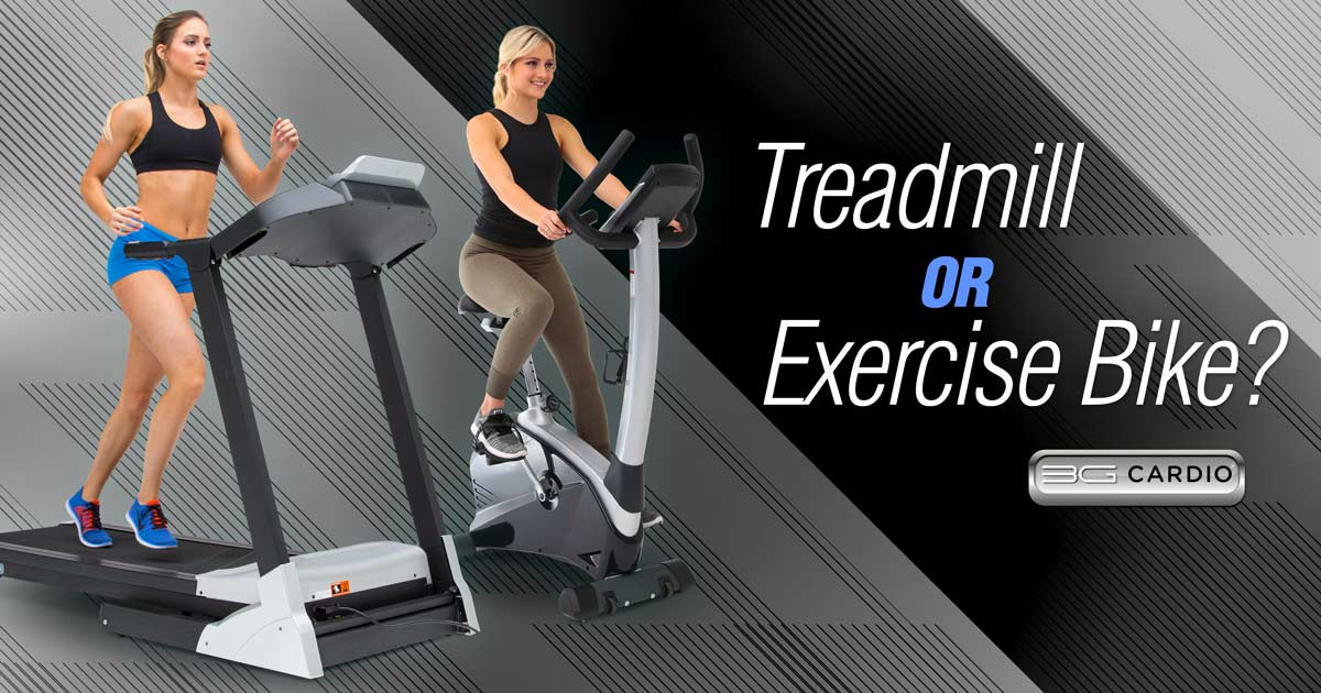 Should I Exercise On Both A Treadmill And An Exercise Bike?