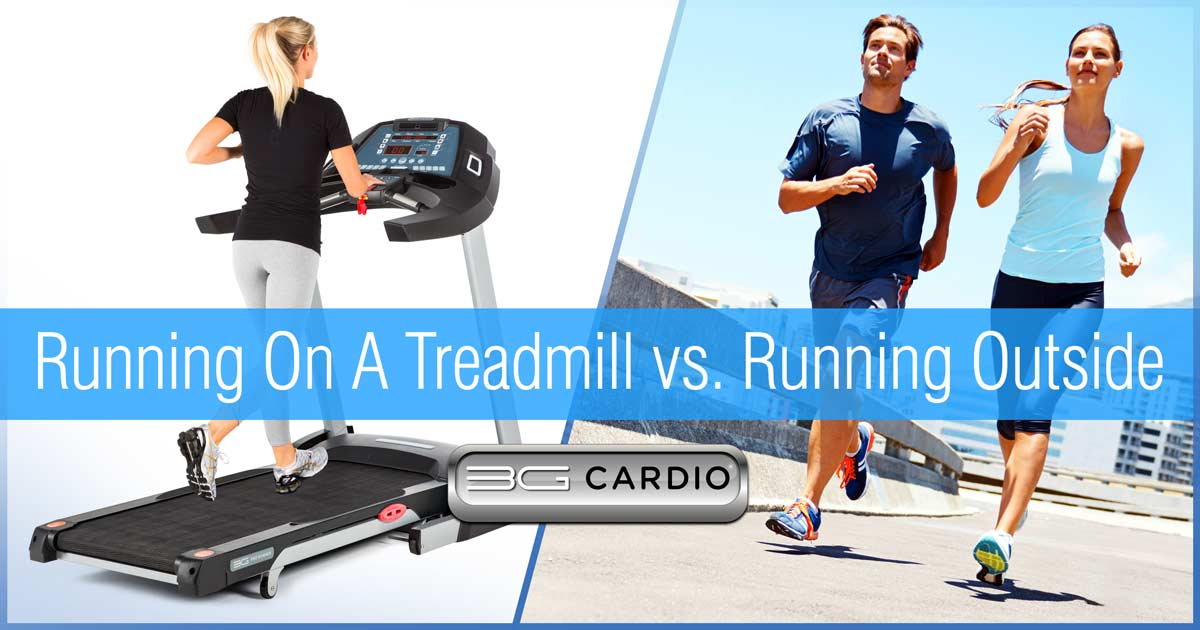 How Does Running On A Treadmill Differ From Running Outside?