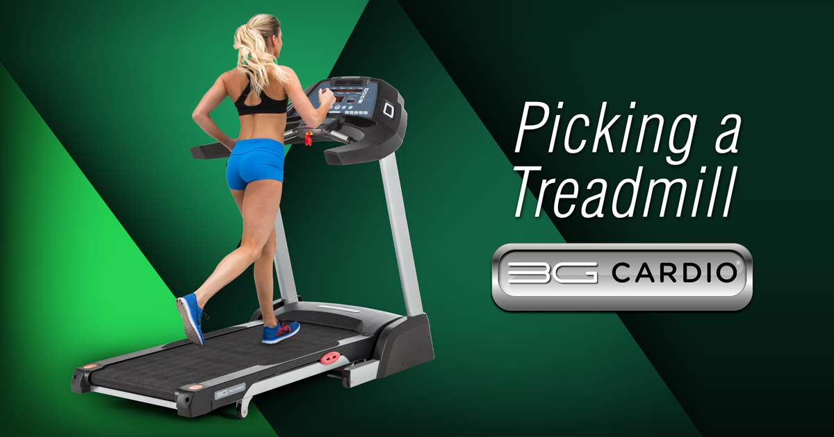 Picking A Treadmill