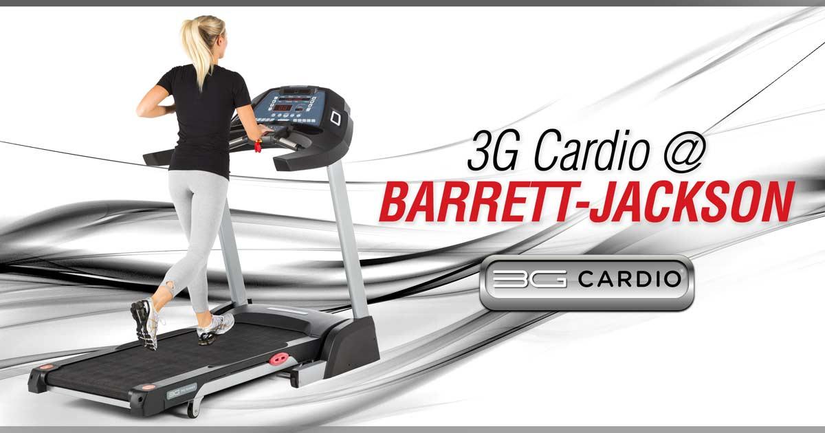 3G-Cardio-equipment-on-display-at-legendary-Barrett-Jackson-Car-Auctions