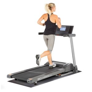 80i Fold Flat Treadmill with Supermat