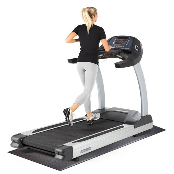 Supermat with Elite Runner Treadmill