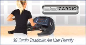 Does A Treadmill Console Confuse You? 3G Cardio Treadmills Are User Friendly