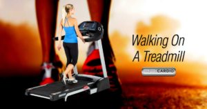 Walking On A Treadmill Good Cardio Exercise