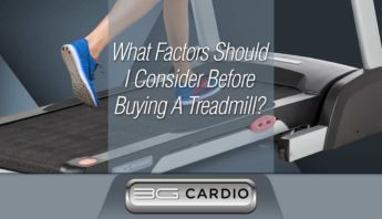 What factors should I consider before buying a treadmill for my home?