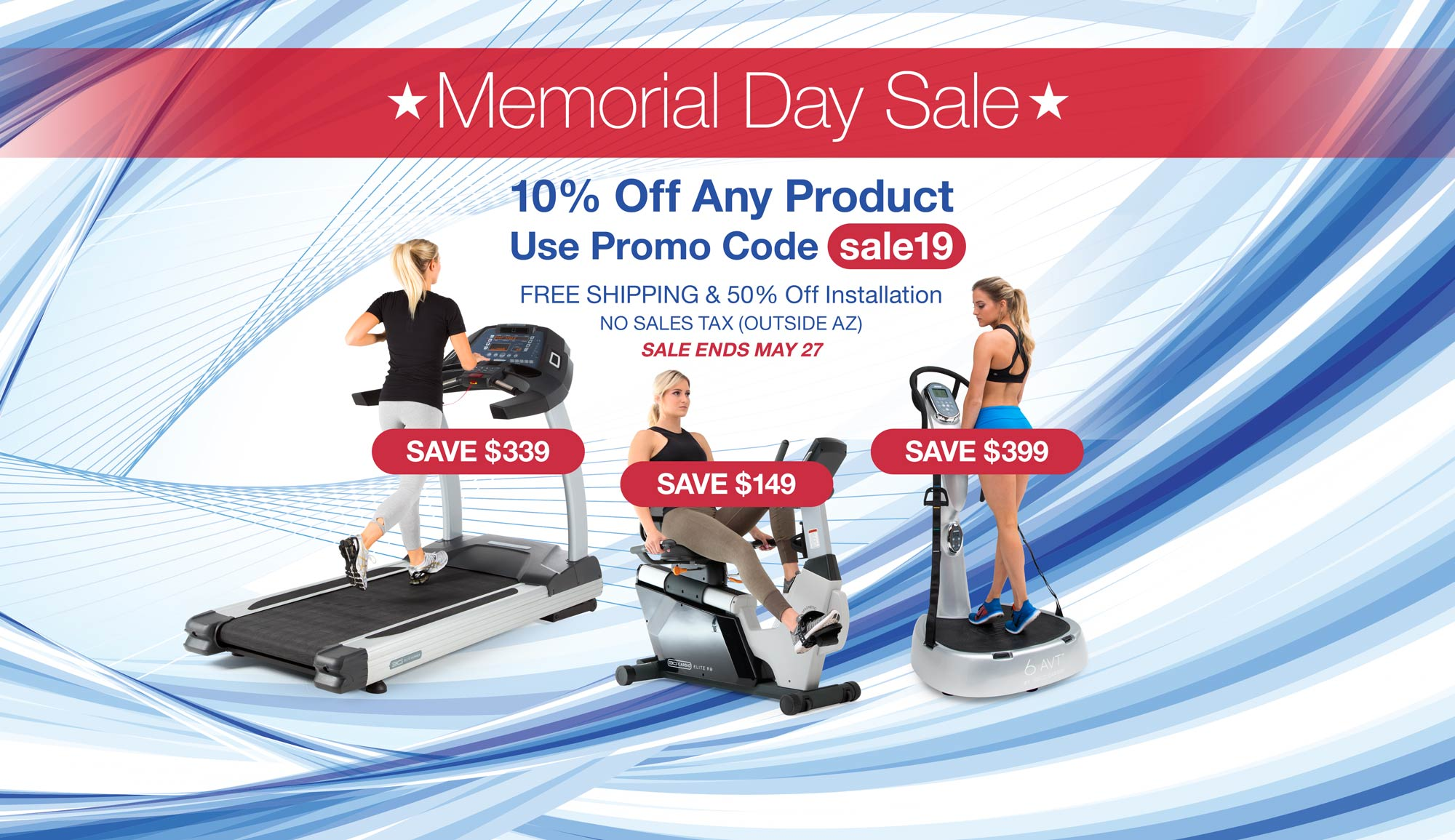 Memorial Day Sale 2019 - Save 10% Off All Products