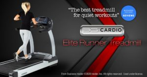 Businessinsider.com names 3G Cardio Elite Runner 'The Best Treadmill for Quiet Workouts'