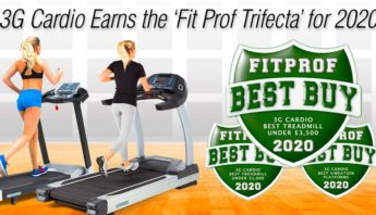 3G Cardio has earned the 'Fit Prof Trifecta' for 2020