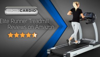 3G Cardio Elite Runner Treadmill earns high praise on Amazon.com