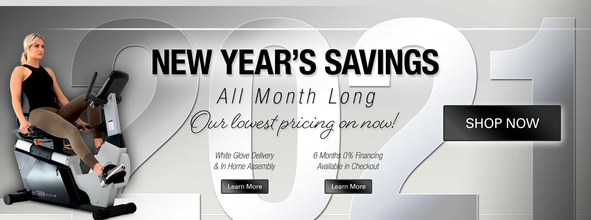 New Years Savings All Month Long