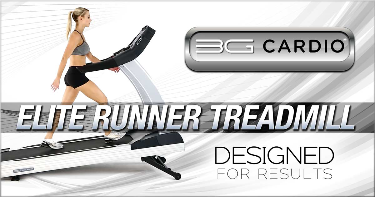 3G Cardio Elite Runner Treadmill Designers Give The People What They Want