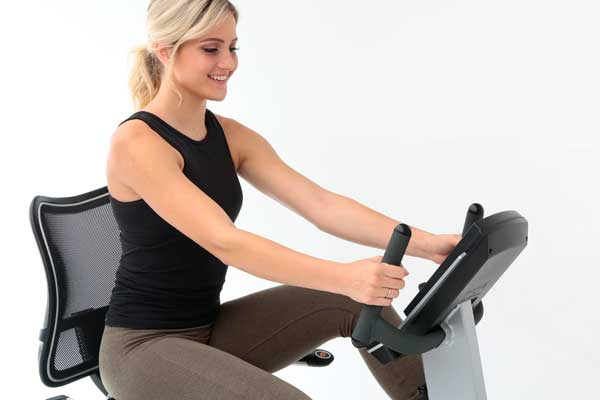Advanced Ergonomic Seat Technology - Elite RB Recumbent Bike