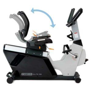 Seat Tilt Adjustment - Elite RB Recumbent Bike - 3G Cardio