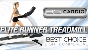 3G Cardio Elite Runner Treadmill best choice for light commercial fitness gyms
